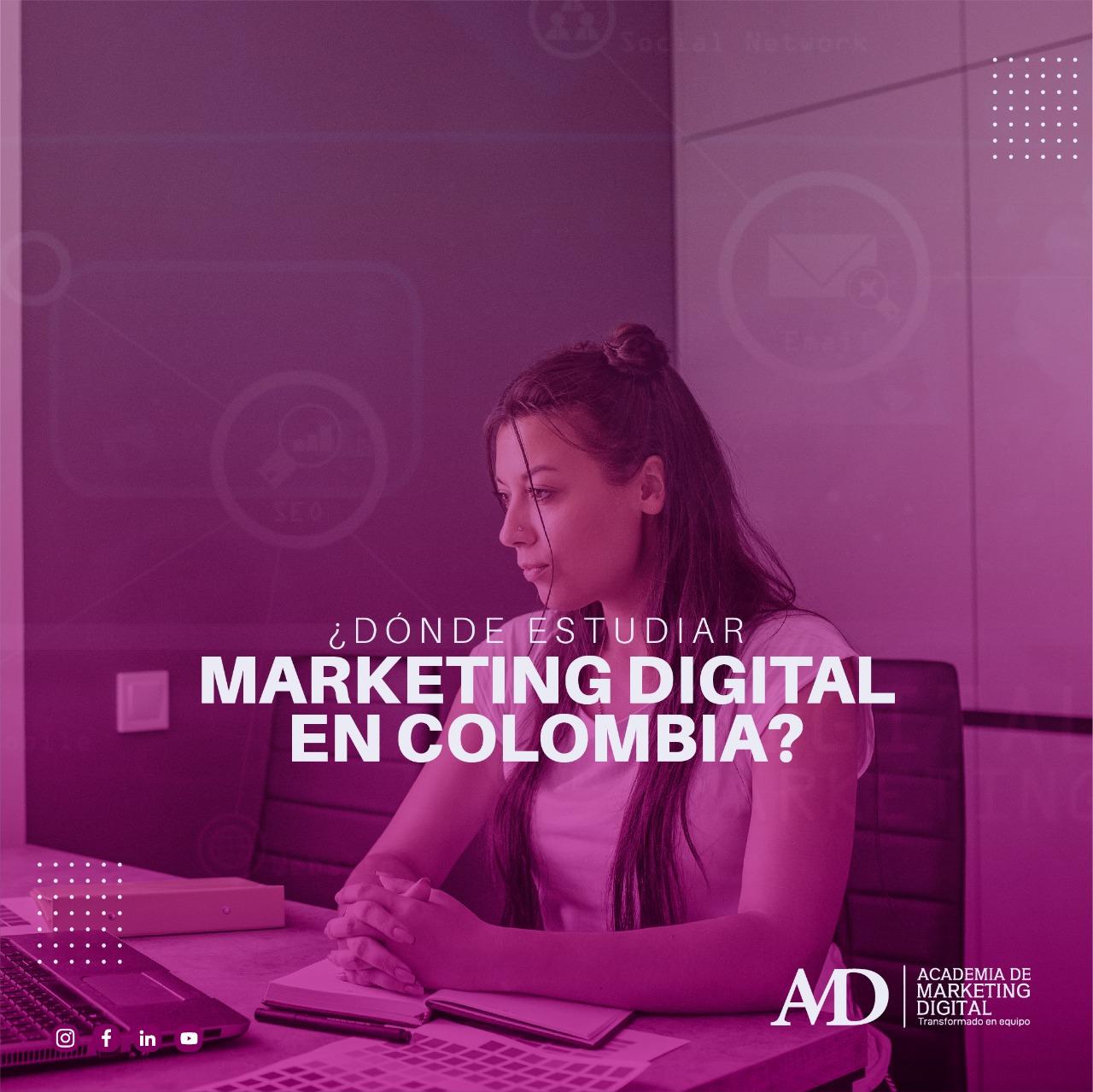 Donde estudiar marketing online en nuestro pais